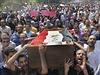 Stoupenci svrženého prezidenta Mursího v ulicích.