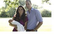 Princ William se svou �enou Kate a synem Georgem. | na serveru Lidovky.cz | aktu�ln� zpr�vy