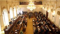Hlasování o rozpu�t�ní Sn�movny. | na serveru Lidovky.cz | aktu�ln� zpr�vy