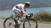 N�meck� cyklista Tony Martin ze st�je Omega Pharma-QuickStep