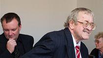 Zleva Ladislav Jel�nek a Josef Knotek.