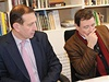 Únor 2012: Pavel                Pilát                s Davidem Rathem nad plány rekonstrukce Jezuitské zahrady v Kutné Hoře. | na serveru Lidovky.cz | aktuální                zprávy