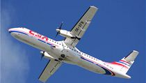 Letoun ATR-72 spole�nosti �SA.   na serveru Lidovky.cz   aktu�ln� zpr�vy