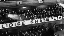 Ustavující sch�ze hnutí Lidice Shall Live v britském Stoke-on-trentu z 6. zá�í 1942 | na serveru Lidovky.cz | aktu�ln� zpr�vy