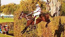 Josef Váňa s osmi vítězstvími ve Velké pardubické je největší postavou českého dostihového sportu. Po závodě oznámil, že končí kariéru