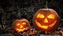 Halloweenské dekorace (ilustrační fotografie)