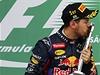 N�meck� pilot formule 1 Sebastian Vettel ze st�je Red Bull