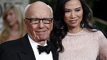 Rupert Murdoch s man�elkou Wendi na rozdávání cen Golden Globe v roce 2012.  | na serveru Lidovky.cz | aktu�ln� zpr�vy