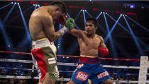 Hv�zdný filipínský boxer Manny Pacquiao (vpravo) a Ameri�an Brandon Rios | na serveru Lidovky.cz | aktu�ln� zpr�vy