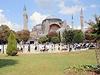 Stane se Hagia Sofia v Istanbulu zase mešitou? Místní se neshodnou