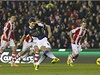 Steven Gerrard proměňuje penaltu.