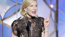 Cate Blanchett získala ocenění pro nejlepší herčku v tragikomedii Woodyho Allena Jasmíniny slzy.