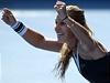 Dominika Cibulková slaví postup do finále