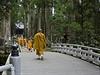 Mniši na posvátné hoře Koya San