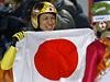 Nepopsatelná radost 41letého Noriaki Kasaie z olympijské medaile