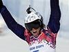 Eva Samková při olympijském závodě