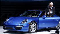 Prezident Porsche Matthias Muller usedá do nového modelu 911 Targa