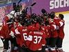 Kana�ané slaví vít�zství v olympijském finále