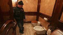 Luxusní rezidence prezidenta Janukovyče.
