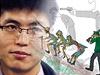 Sin Tong-hjuk je jedin� �lov�k, kter� se narodil v severokorejsk�m koncentra�n�m t�bo�e a poda�ilo se mu z n�j ut�ct a podat o tom sv�dectv�.