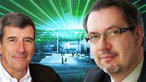 Technický �editel ELI Bruno Le Garrec (vlevo) a realiza�ní �éf Alan Sneddon. | na serveru Lidovky.cz | aktu�ln� zpr�vy