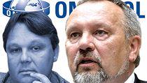 P�edseda poslaneckého klubu komunist� Pavel Ková�ik (vpravo) a jeho asistent Josef Piga. | na serveru Lidovky.cz | aktu�ln� zpr�vy