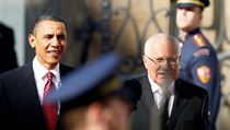 US President Barack Obama and his Czech counterpart Václav Klaus came in fist and second, respectively, in the poll | na serveru Lidovky.cz | aktu�ln� zpr�vy