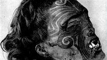 Spirály slou�ily Maor�m jako podpis, jím� signovali i smlouvy s Brity. Etnologové z lícního tetování rouenské hlavy cht�jí rozpoznat oblast, ze které Maor pocházel. | na serveru Lidovky.cz | aktu�ln� zpr�vy