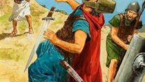 David se stane jedním z nejpopulárn�j�ích hrdin� západní kultury, proto�e zabije velepadoucha, fili�tínského obra Goliá�e, kamenem z ko�eného praku. | na serveru Lidovky.cz | aktu�ln� zpr�vy