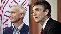 Laureáti leto�ní Nobelovy ceny za chemii: ameri�tí biochemici Brian K. Kobilka (vlevo) a Robert J. Lefkowitz. | na serveru Lidovky.cz | aktu�ln� zpr�vy