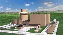 Reaktor AP 1000 se na první pohled odli�uje od konkurent� vn�j�í ��títovou� budovou, která není plnohodnotnou ochrannou obálkou, tzv. kontejnmentem.. | na serveru Lidovky.cz | aktu�ln� zpr�vy