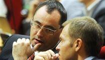 Bývalí pra��tí zastupitelé za ODS Boris ��astný a Milan Richter. | na serveru Lidovky.cz | aktu�ln� zpr�vy