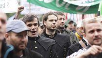Demonstrace hornických odbor� v Ostrav� 17. zá�í. | na serveru Lidovky.cz | aktu�ln� zpr�vy