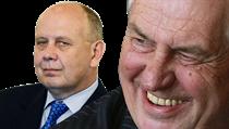 Ministr �kolství v demisi Dalibor �tys a prezident Milo� Zeman � práv� u nich se zarazil proces jmenování vysoko�kolských profesor�. | na serveru Lidovky.cz | aktu�ln� zpr�vy