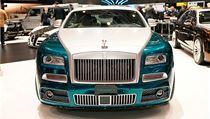 Novinka od Rolls-Royce. Robustní Mansory Wraith
