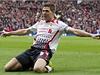 Radující se Steven Gerrard.