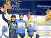 Zleva: Nairo Quintana, Alberto Contador a Roman Kreuziger.