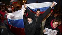 Demonstrace v Doněcku, která si vyžádala jednu obě. | na serveru Lidovky.cz | aktuální zprávy