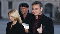 Oslavu Miloše Zemana si nenechal ujít ani režisér Filip Renč.