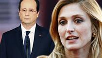 Francouzský prezident François Hollande a jeho milenka Julie Gayetová.   na serveru Lidovky.cz   aktu�ln� zpr�vy