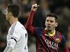 Radující se Messi a zklamaný Ronaldo. | na serveru Lidovky.cz | aktu�ln� zpr�vy