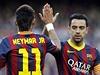 Skv�lá práce! Neymar a Xavi Hernandez. | na serveru Lidovky.cz | aktu�ln� zpr�vy