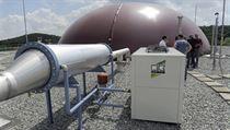 Bioplynová stanice na výrobu elekt�iny v Meclov� na Doma�licku, kterou 21. �ervna 2013 otev�ela spole�nost Meclovská zem�d�lská. | na serveru Lidovky.cz | aktu�ln� zpr�vy