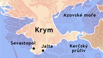 Krym, mapa | na serveru Lidovky.cz | aktu�ln� zpr�vy