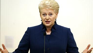 Litevská prezidentka Dalia Grybauskaitéová   na serveru Lidovky.cz   aktu�ln� zpr�vy