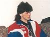 Jarom�r J�gr na hokejov�m �ampion�tu v It�lii v roce 1994.