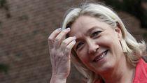Marine Le Penov�, kter� vede nacionalistickou N�rodn� frontu ve Francii.