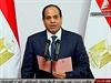 Nový egyptský prezident Abdal Fattáh Sísí skládá přísahu.