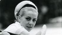 Věra Čáslavská na olympiádě v Mexiku 1968