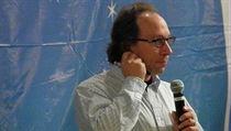 Lawrence Krauss hovo�í na ateistické konferenci v Iow� v roce 2011. | na serveru Lidovky.cz | aktu�ln� zpr�vy
